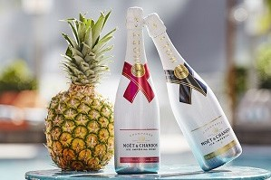 Pacific Fair Moet & Chandon Ice Rose Summer Pop Up