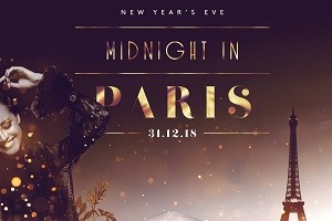 NEW YEARS EVE – MIDNIGHT IN PARIS